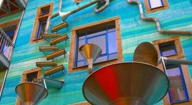 Dresda-casa-diventa-musicale-quando-piove