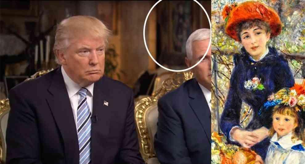 Il museo contro Trump: quel Renoir e' una copia!