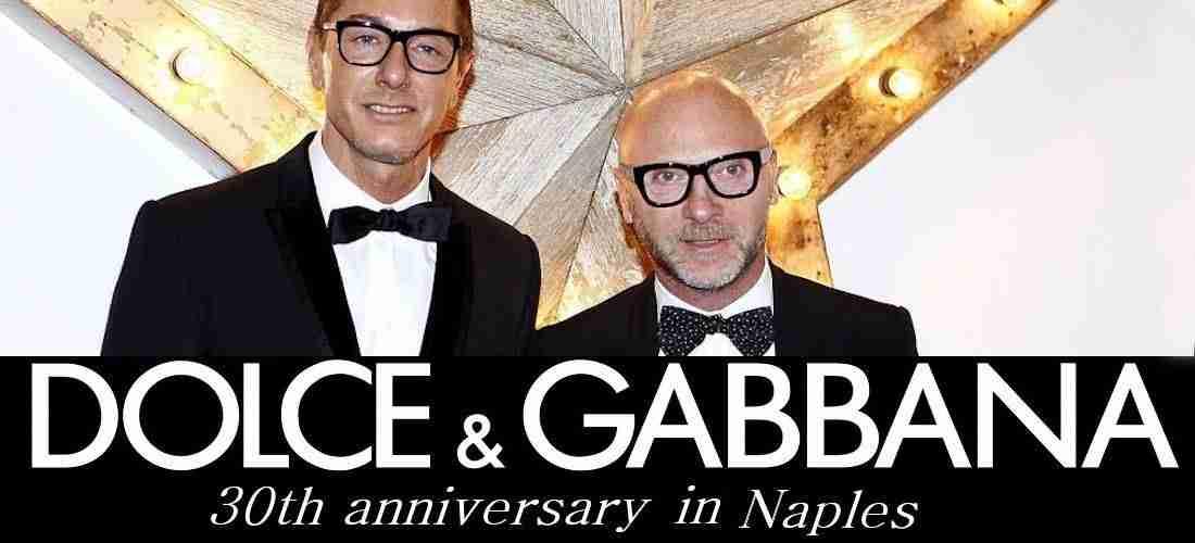 newest ba54f 2292a Sfilata Dolce & Gabbana a Napoli. Evento mondiale su IL MIO ...