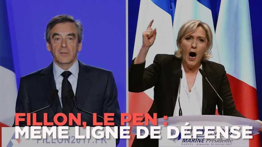 Incredibile: Marine Le Pen ha copiato il discorso di Fillon!